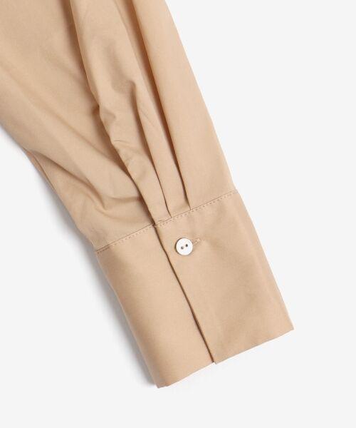 le.coeur blanc / ルクールブラン シャツ・ブラウス | タイプライターバックボタンシャツ | 詳細23