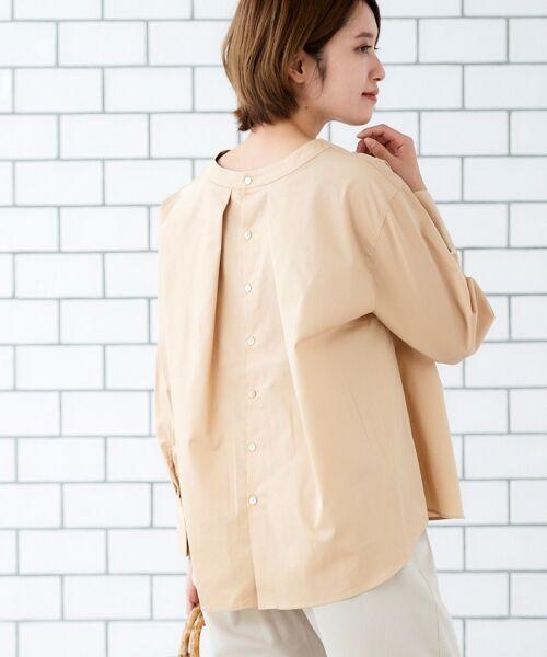le.coeur blanc / ルクールブラン シャツ・ブラウス | タイプライターバックボタンシャツ | 詳細5