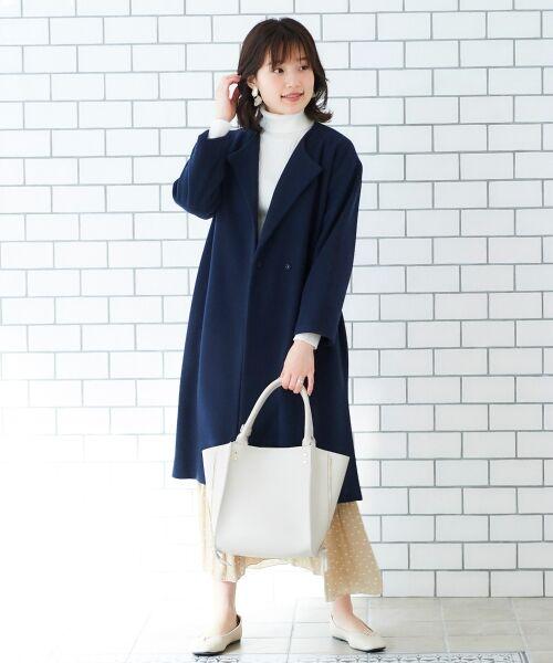 le.coeur blanc / ルクールブラン ニット・セーター   ランダムリブタートルニット   詳細26