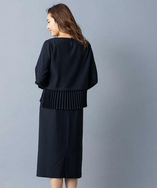 Leilian / レリアン セットアップ | ペプラムデザイン入りスーツ | 詳細13