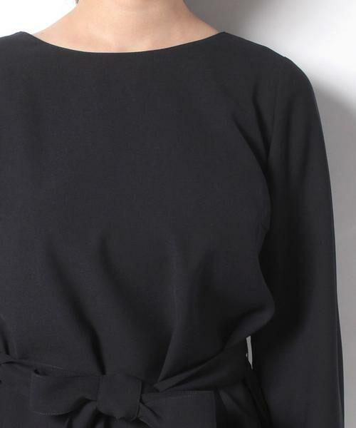 Leilian / レリアン セットアップ | ペプラムデザイン入りスーツ | 詳細4