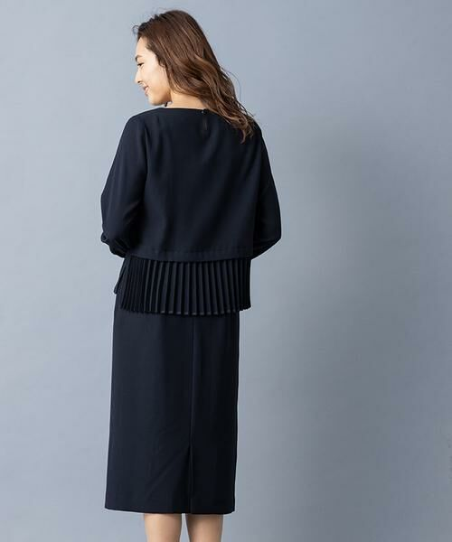 Leilian / レリアン セットアップ | ペプラムデザイン入りスーツ | 詳細18
