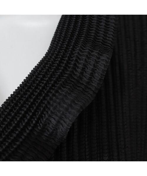 Liliane Burty / リリアンビューティ その他アウター   ラッフルカラー プリーツジャケット【大きいサイズ】   詳細3
