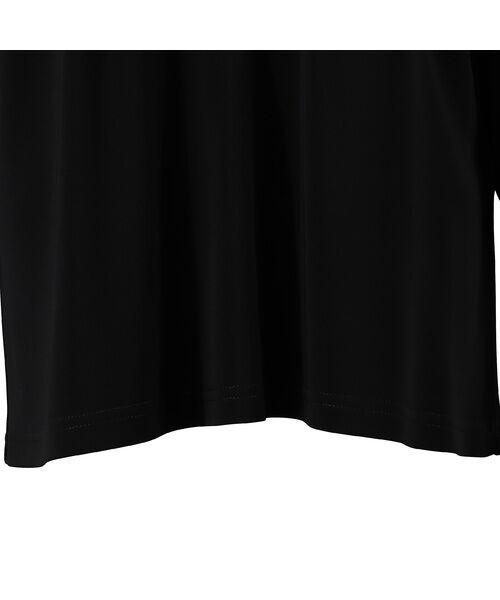 Liliane Burty / リリアンビューティ カットソー | チュール切替 スパンコール刺繍カットソー【大きいサイズ】 | 詳細13