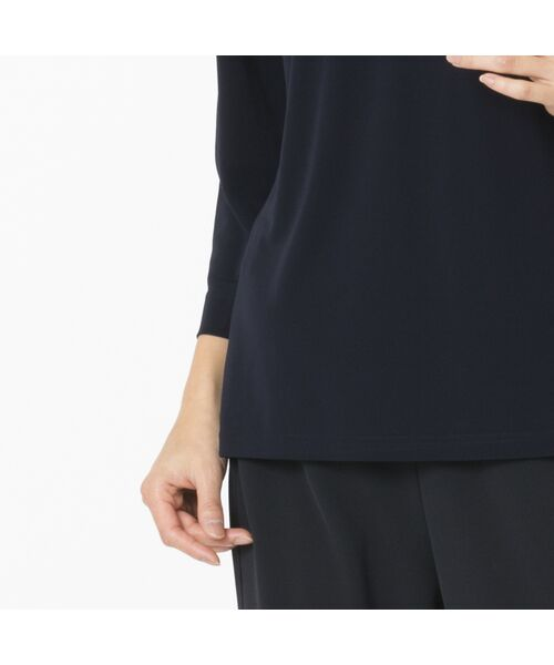 Liliane Burty / リリアンビューティ カットソー | スパンコール刺繍加工 エレガンスTシャツ | 詳細8