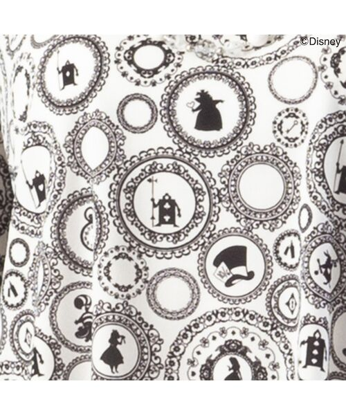Liliane Burty / リリアンビューティ カットソー   Disney アリスデザイン プリントTシャツ   詳細8