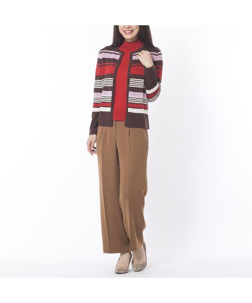 Liliane Burty ECLAT / リリアンビューティ エクラ ニット・セーター | 無地半袖セーター | 詳細4