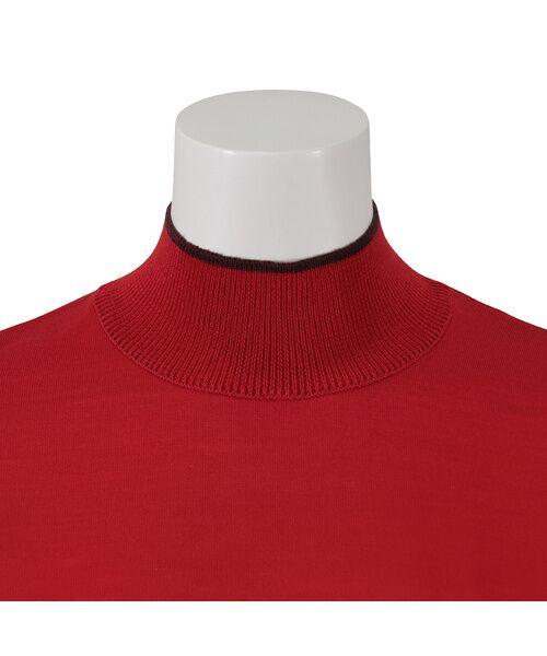 Liliane Burty ECLAT / リリアンビューティ エクラ ニット・セーター | 無地半袖セーター | 詳細6