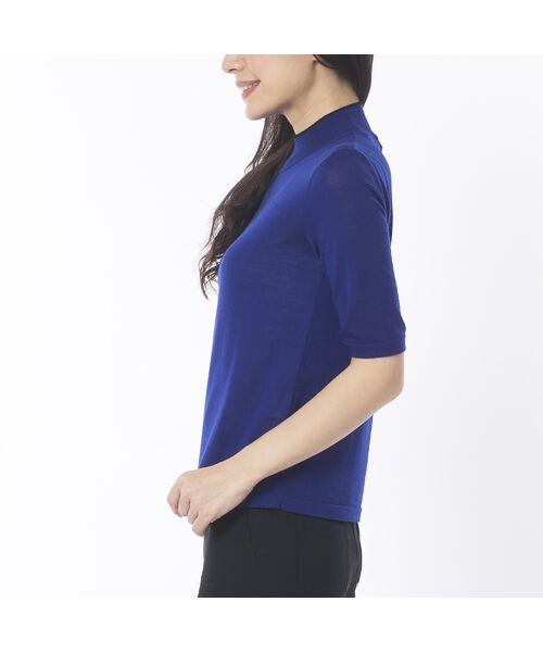 Liliane Burty ECLAT / リリアンビューティ エクラ ニット・セーター | 無地半袖セーター | 詳細8