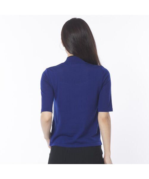 Liliane Burty ECLAT / リリアンビューティ エクラ ニット・セーター | 無地半袖セーター | 詳細9
