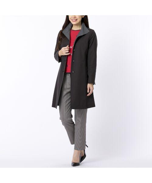 Liliane Burty ECLAT / リリアンビューティ エクラ ニット・セーター | 配色使いデザインプルオーバー | 詳細8