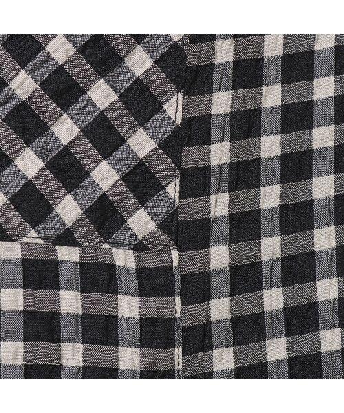 LOBJIE / ロブジェ シャツ・ブラウス | ポコポコ先染めチェックのシャツブラウス | 詳細7