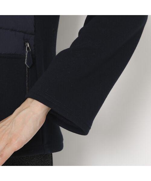 LOBJIE / ロブジェ ブルゾン   裏起毛素材×中綿のあったかブルゾン   詳細8