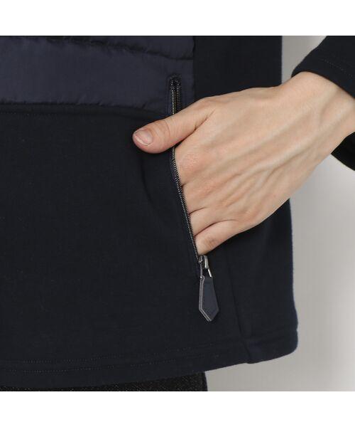 LOBJIE / ロブジェ ブルゾン   裏起毛素材×中綿のあったかブルゾン   詳細9