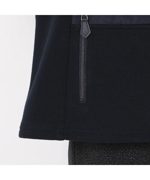LOBJIE / ロブジェ ブルゾン   裏起毛素材×中綿のあったかブルゾン   詳細10