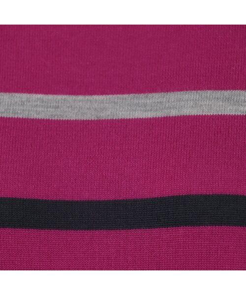 LOBJIE / ロブジェ ニット・セーター | [アンサンブル対応] ハイゲージウールのボーダーセーター | 詳細7