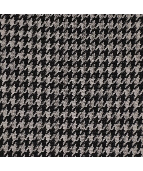 LOBJIE / ロブジェ チュニック | 千鳥ジャガードニットの襟付きチュニック | 詳細8