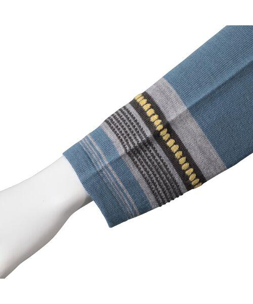 LOBJIE / ロブジェ ニット・セーター | [アンサンブル対応]ポコポコボーダーのチュニックニット | 詳細11