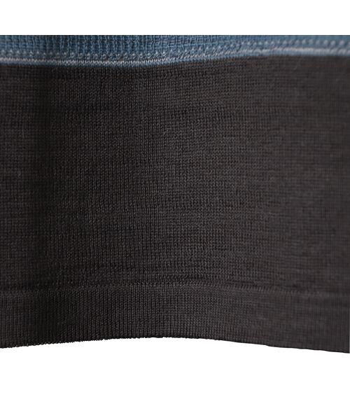 LOBJIE / ロブジェ ニット・セーター | [アンサンブル対応]ポコポコボーダーのチュニックニット | 詳細12