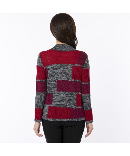 LOBJIE / ロブジェ ニット・セーター | カラーブロックのプルオーバーニット | 詳細2