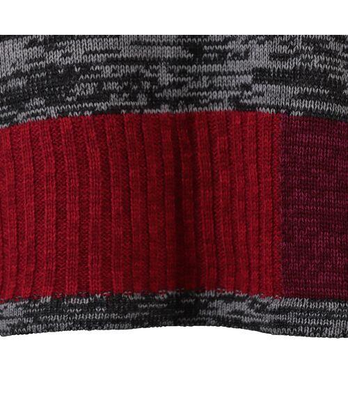LOBJIE / ロブジェ ニット・セーター | カラーブロックのプルオーバーニット | 詳細5