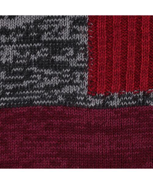 LOBJIE / ロブジェ ニット・セーター | カラーブロックのプルオーバーニット | 詳細6