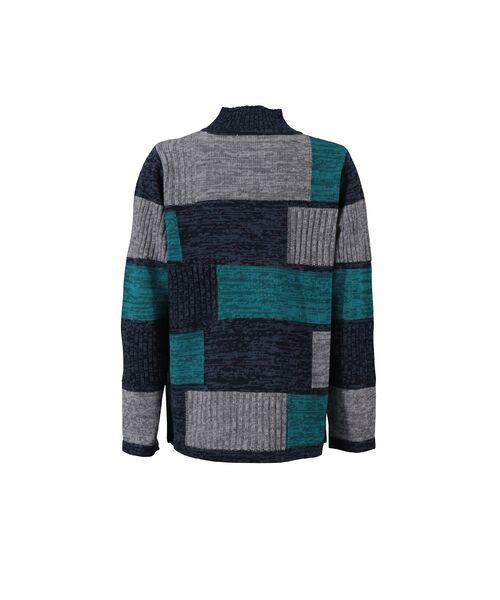 LOBJIE / ロブジェ ニット・セーター | カラーブロックのプルオーバーニット | 詳細8