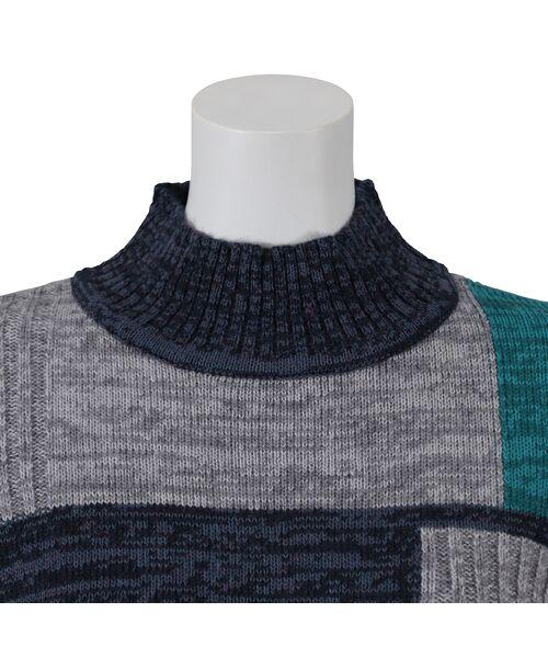 LOBJIE / ロブジェ ニット・セーター | カラーブロックのプルオーバーニット | 詳細9
