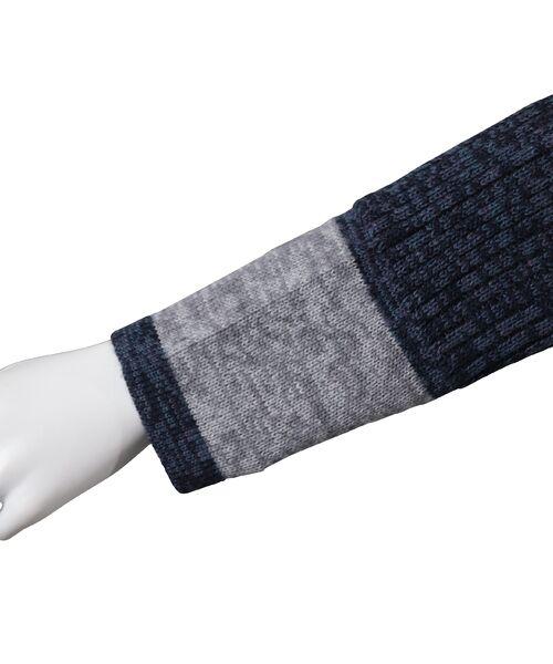 LOBJIE / ロブジェ ニット・セーター | カラーブロックのプルオーバーニット | 詳細10