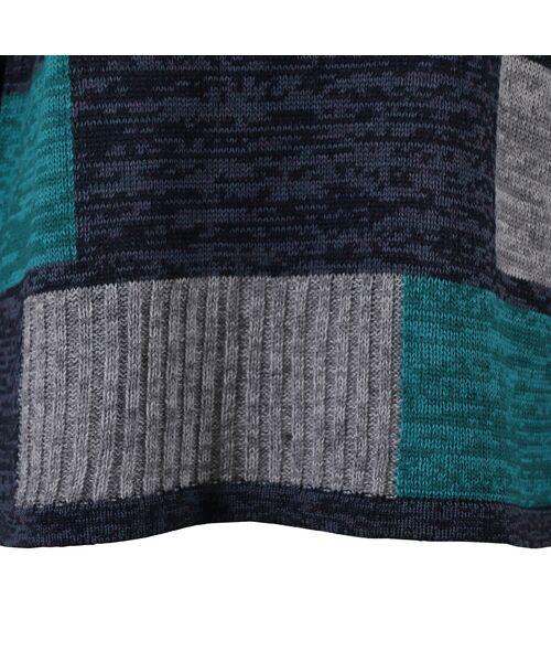LOBJIE / ロブジェ ニット・セーター | カラーブロックのプルオーバーニット | 詳細11