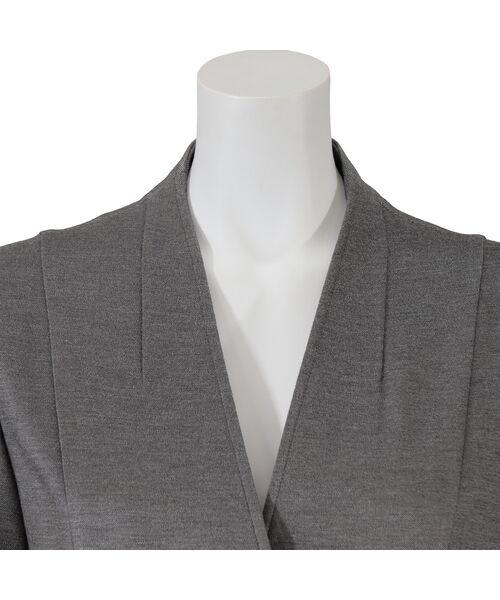 LOBJIE / ロブジェ シャツ・ブラウス | Vネックの羽織りブラウス | 詳細4