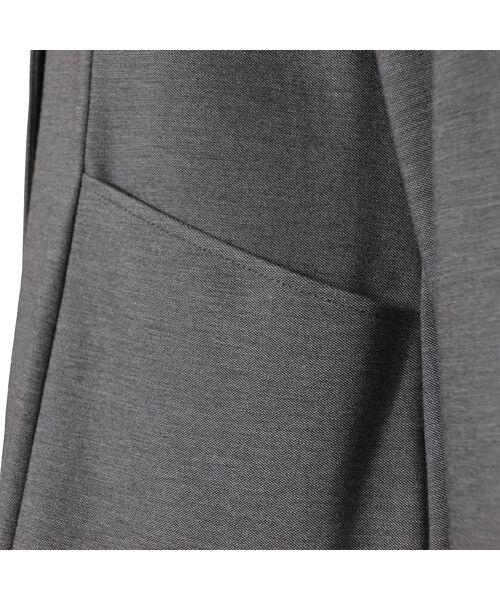 LOBJIE / ロブジェ シャツ・ブラウス | Vネックの羽織りブラウス | 詳細5