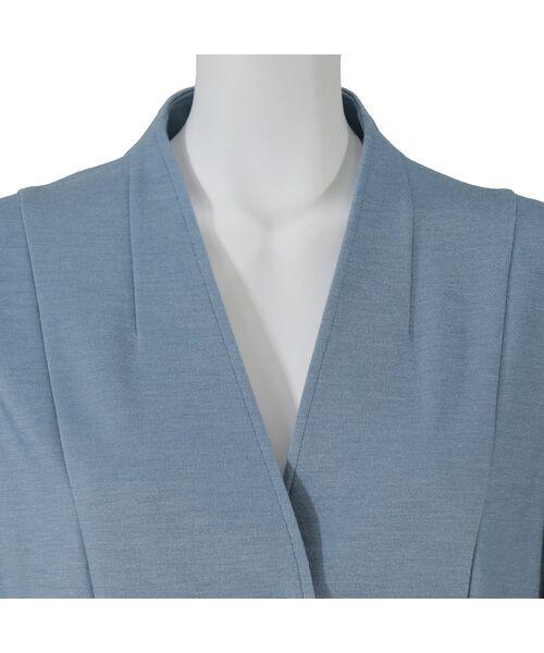 LOBJIE / ロブジェ シャツ・ブラウス | Vネックの羽織りブラウス | 詳細12