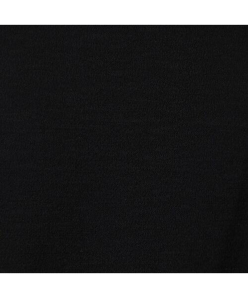 LOBJIE / ロブジェ ミニ・ひざ丈スカート   [セットアップ対応] アシンメトリー切り替えのセミフレアースカート   詳細11