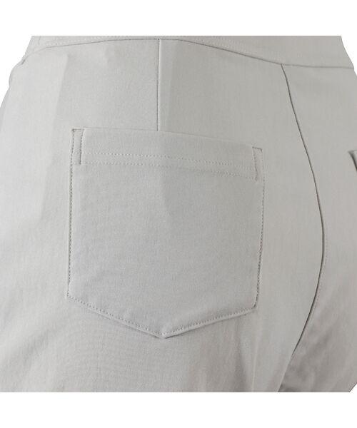LOBJIE / ロブジェ ショート・ハーフ・半端丈パンツ | フラワーレース付きクロップドパンツ | 詳細3