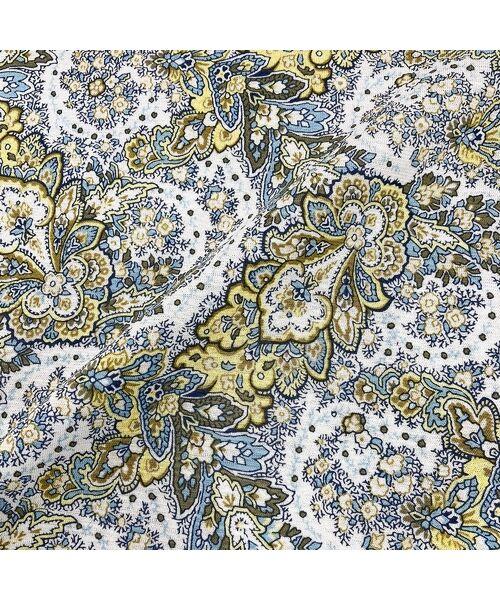 LOBJIE / ロブジェ カットソー | 【カバリエレ・アズーロコラボ】ペイズリープリントTシャツ | 詳細9