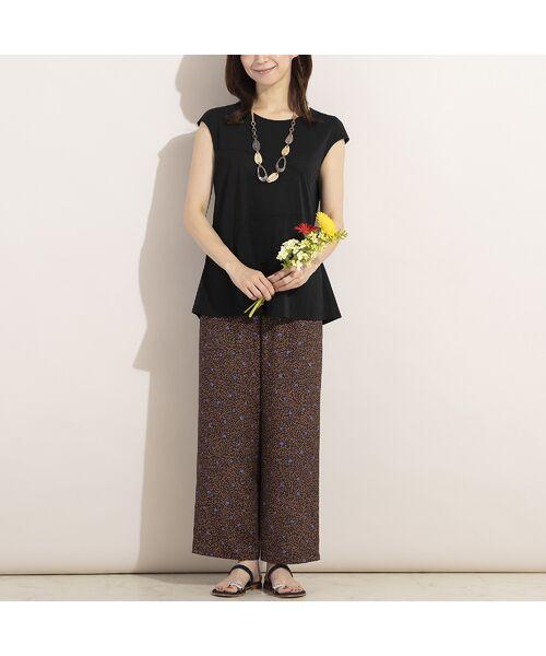 LOBJIE / ロブジェ その他パンツ   デシン小花柄イージーパンツ   詳細8