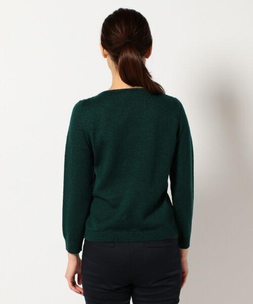 L size ONWARD(大きいサイズ) / エルサイズオンワード ニット・セーター | タムヤーンビジューニット | 詳細2