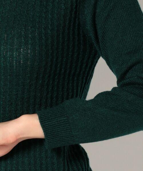 L size ONWARD(大きいサイズ) / エルサイズオンワード ニット・セーター | タムヤーンビジューニット | 詳細4