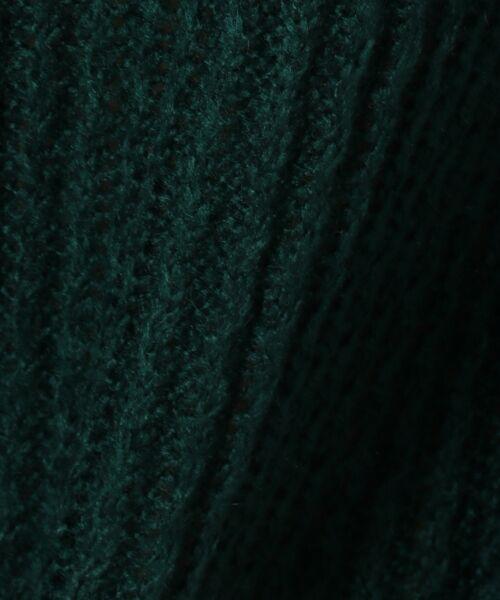 L size ONWARD(大きいサイズ) / エルサイズオンワード ニット・セーター | タムヤーンビジューニット | 詳細7