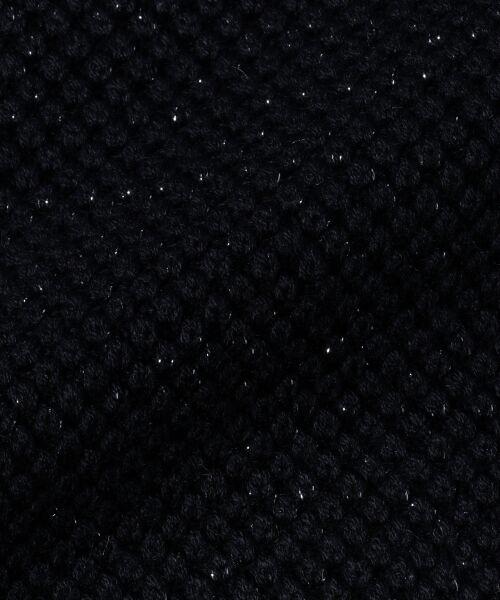 L size ONWARD(大きいサイズ) / エルサイズオンワード ニット・セーター   【WEB限定カラー有】ラメパターンコンビニット   詳細6