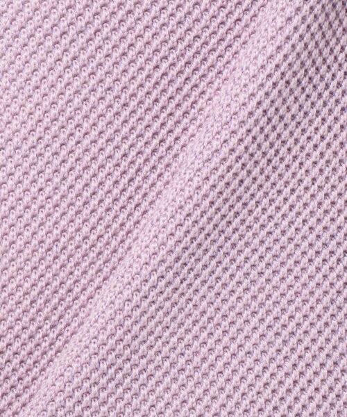 L size ONWARD(大きいサイズ) / エルサイズオンワード ニット・セーター   【WEB限定カラー有】ラメパターンコンビニット   詳細14