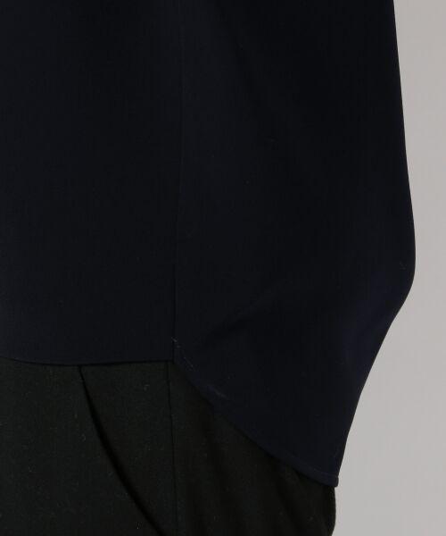 L size ONWARD(大きいサイズ) / エルサイズオンワード シャツ・ブラウス | 【洗える!】トリアセダブルコンパクト ブラウス | 詳細5