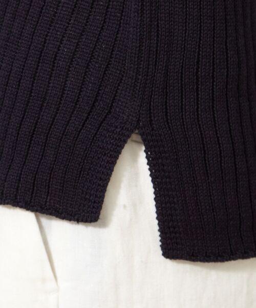 L size ONWARD(大きいサイズ) / エルサイズオンワード ニット・セーター | 【洗える!】ギマコットン フレアスリーブニット | 詳細19