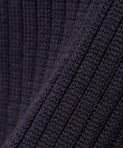 L size ONWARD(大きいサイズ) / エルサイズオンワード ニット・セーター | 【洗える!】ギマコットン フレアスリーブニット | 詳細20