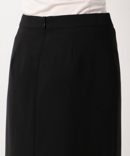 L size ONWARD(大きいサイズ) / エルサイズオンワード ミニ・ひざ丈スカート | 【セットアップ対応】リラクションツイル ラップスカート | 詳細20