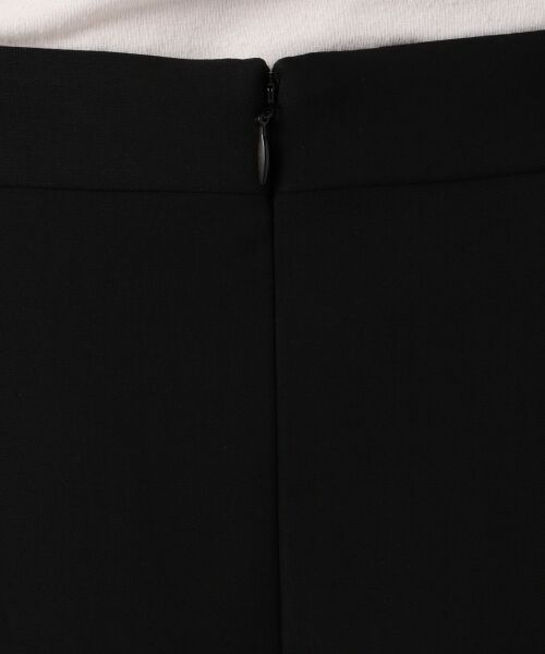L size ONWARD(大きいサイズ) / エルサイズオンワード ミニ・ひざ丈スカート | 【セットアップ対応】リラクションツイル ラップスカート | 詳細21