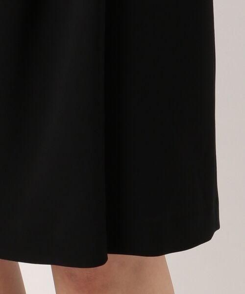 L size ONWARD(大きいサイズ) / エルサイズオンワード ミニ・ひざ丈スカート | 【セットアップ対応】リラクションツイル ラップスカート | 詳細22