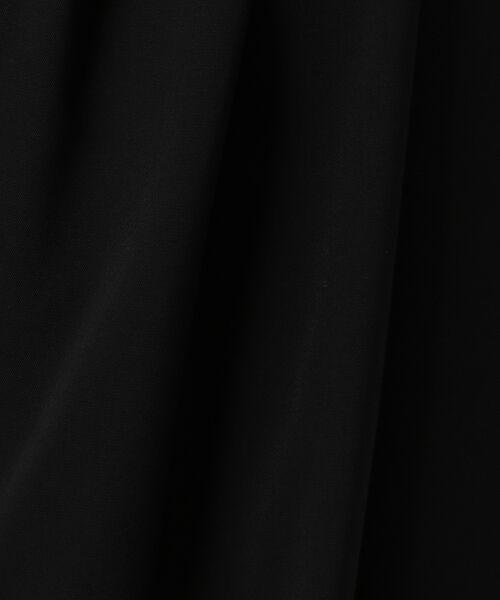 L size ONWARD(大きいサイズ) / エルサイズオンワード ミニ・ひざ丈スカート | 【セットアップ対応】リラクションツイル ラップスカート | 詳細23