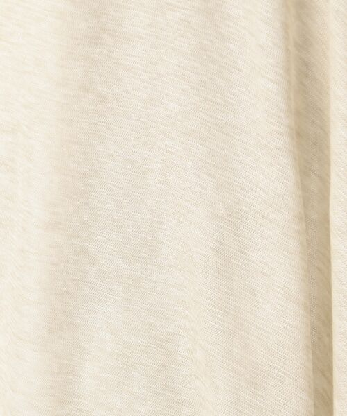 L size ONWARD(大きいサイズ) / エルサイズオンワード カーディガン・ボレロ | 【接触冷感】レーヨンキュプラシャインフライス ショート丈 カーディガン | 詳細18